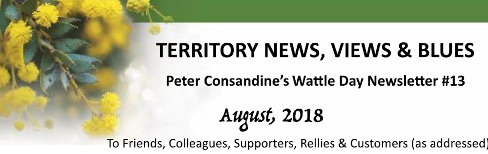 Territory News, Views & Blues