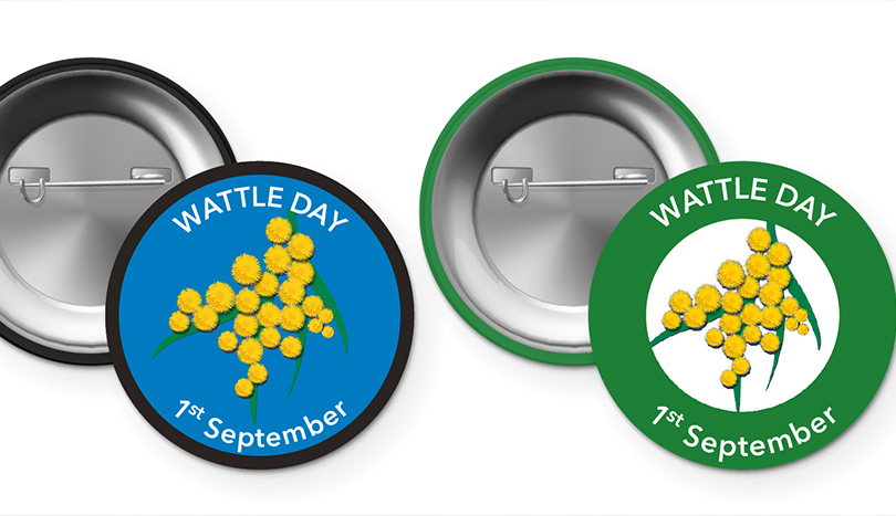 Wattle Day Badges