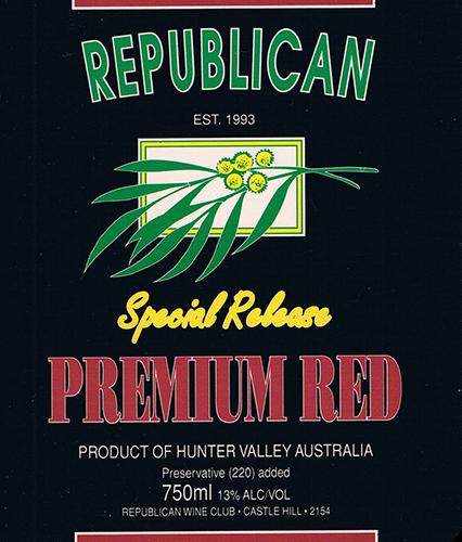 Wine Club Premium Red