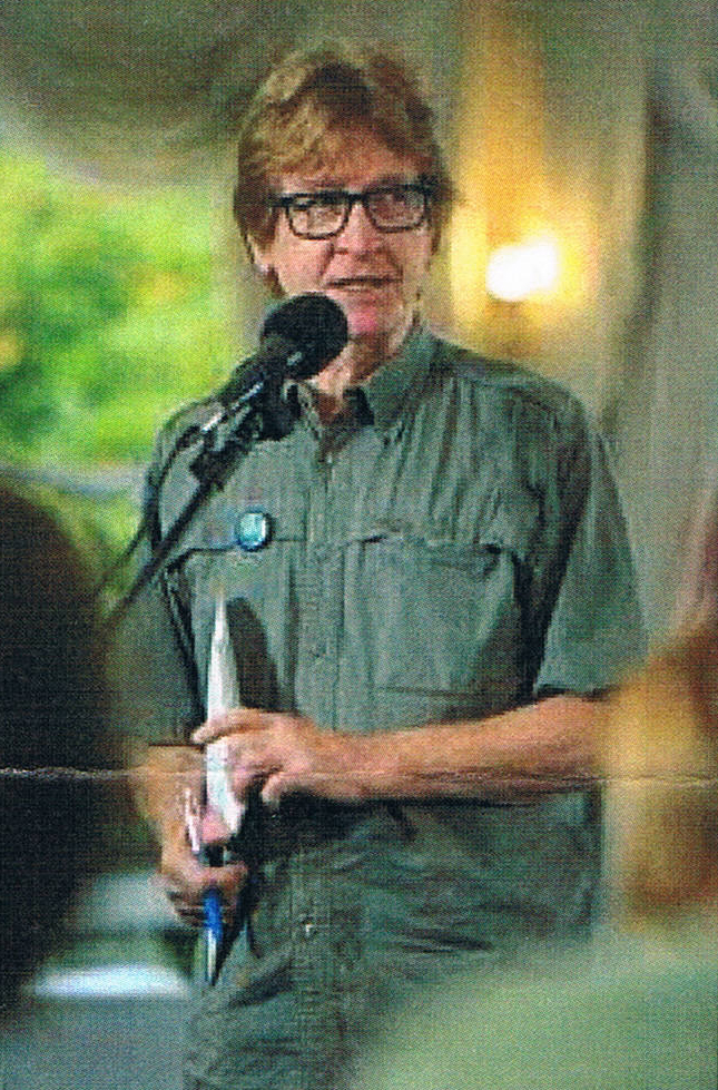 RPA National Executive Director, PETER CONSANDINE, addressing a Gathering at the Banjo Paterson Arts Festival, Orange NSW 2800 on 17 February, 2020