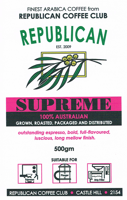 Coffee Club Supreme