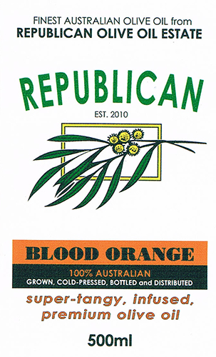 Olive Oil Estate Blood Orange