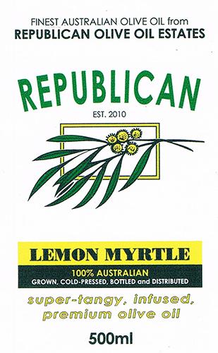 Olive Oil Estate Lemon Myrtle