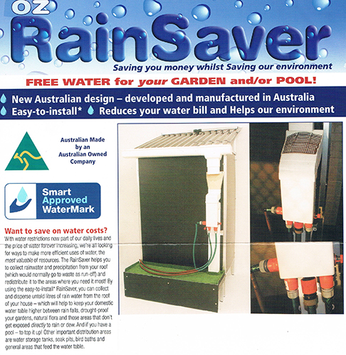 Oz RainSaver